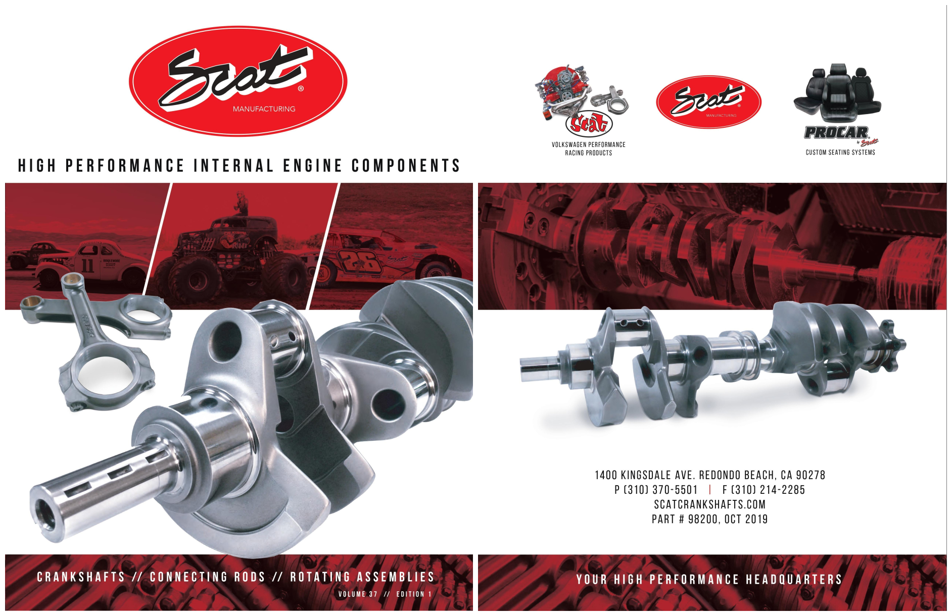 SCAT Crankshafts Catalog